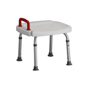 Nova Medical Deluxe Adjustable Height Bath Bench with Safety Handle - Senior.com Bath Benches & Seats