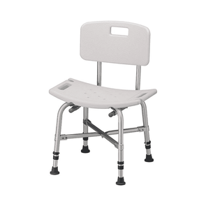 Nova Medical Heavy Duty Bariatric Bath Seat with Non-Skid Rubber Tips - Senior.com Bath Benches & Seats