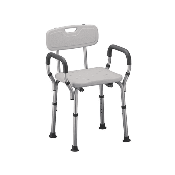 Nova Medical Bath Seats With Padded Arms and Skid Resistant Feet - Senior.com Bath Benches & Seats