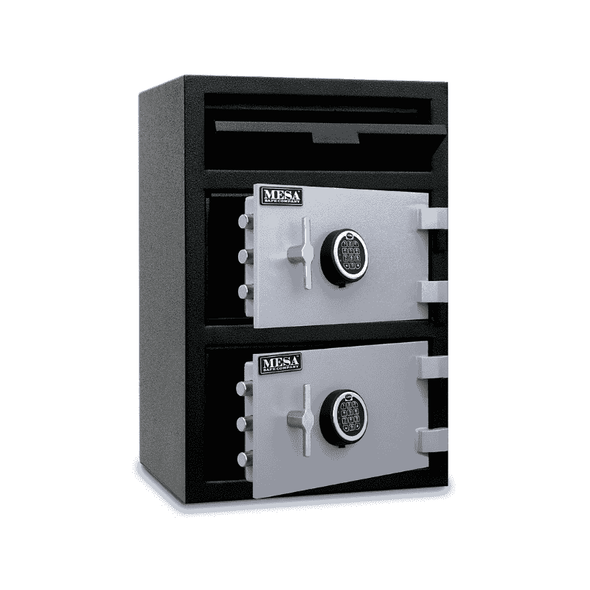 Mesa Safe All Steel Depository Safe with Two Electronic Locks - 3.6 CF - Senior.com Security Safes