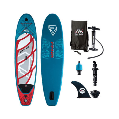 Aqua Marina Echo Inflatable Extra Long Stand-up Paddle Board - Senior.com Stand Up Paddle Boards
