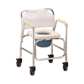 Nova Medical Shower Commode with Wheels 8800