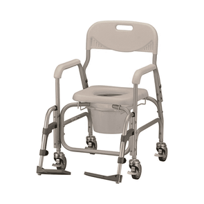 Nova Medical Deluxe Shower Chair and Commode with Wheels 8801