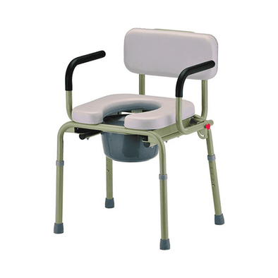 Nova Medical Padded Drop-Arm Commode Chair 8901W