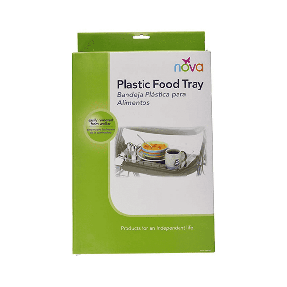 Nova Medical Mobility Walker Rollator Plastic Food Tray - Senior.com Walker Parts & Accessories