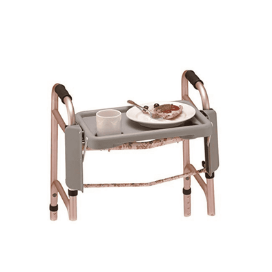 Nova Medical Walker Folding Food Tray - Senior.com Walker Parts & Accessories