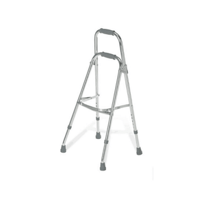 Medline Folding Lightweight Adult Hemi Walker Side Stepper - Senior.com Walkers