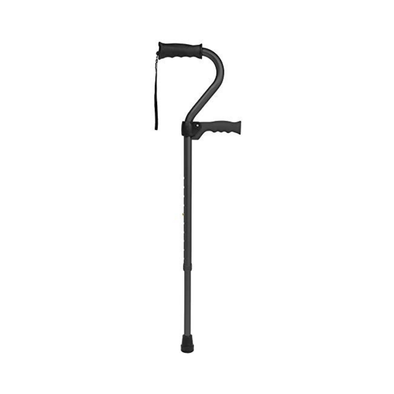 Carex Stand Assist Uplift Walking Cane with Secondary Flip Down Handle