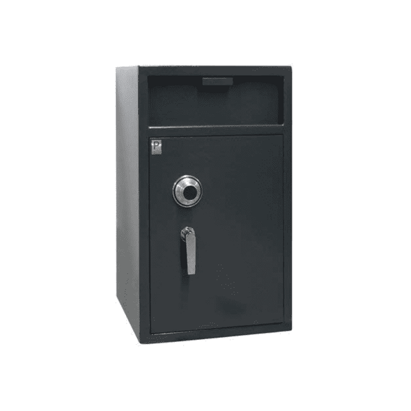 Protex Front Loading Extra Large Electronic Drop Depository Safe - Senior.com Security Safes