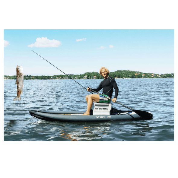 Aqua Marina Drift Fishing Inflatable Stand-up Paddle Board with Fish Cooler & Fishing Rod Holders - Senior.com Stand Up Paddle Boards
