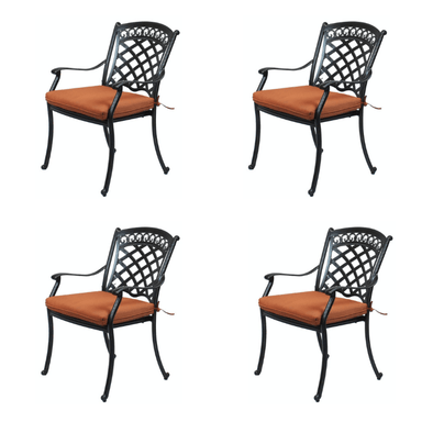 Summerset Casual St. Tropez Outdoor Dining Chairs - Senior.com Patio Furniture