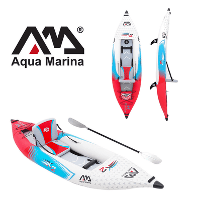 Aqua Marina Betta VT K2 Inflatable Portable Kayak - 1 Person - Senior.com Kayaks