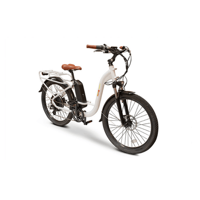 Ewheels Bam Step Thru Electric Bikes - Low Step Frame & 45 Mile Range - Senior.com Electric Bikes