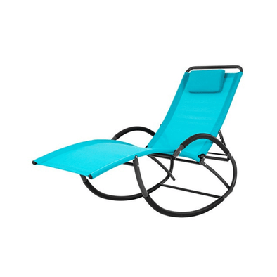 Vivere Wave Laze Rocking Chairs with 4 Rocking Positions - Senior.com Outdoor Chairs