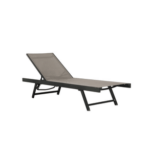 Vivere Urban Sun Loungers - Outdoor Patio Fully Reclining Pool Chairs