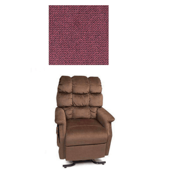 Golden Technologies Signature Series Cambridge Recliners with Assisted Lift shiraz