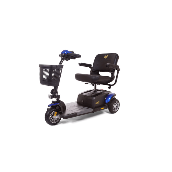 Golden Technologies BuzzAround EX Extreme 3-Wheel Heavy Duty Long Range Travel Scooter - Senior.com Scooters
