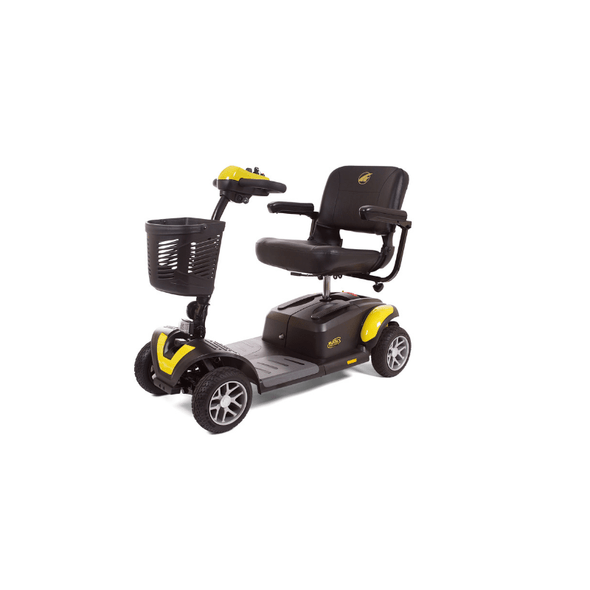 Golden Technologies BuzzAround EX Extreme 4-Wheel Heavy Duty Long Range Travel Scooter GB148D Yellow