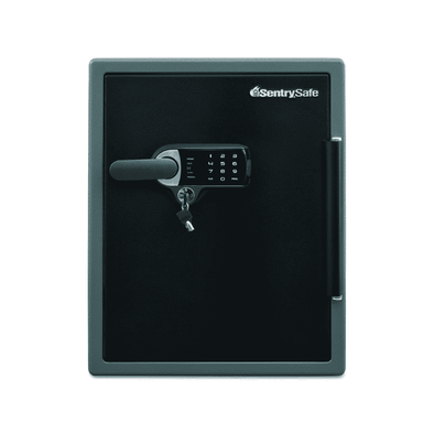 SentrySafe Electronic Alarm Water & Fire Resistant Safe - Senior.com Security Safes