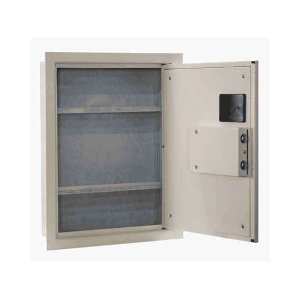 Protex Wall Security Safe with Biometric Fingerprint Lock - Senior.com Security Safes