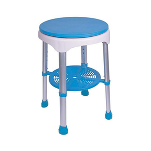 Carex EZ Swivel Shower Stool - Rotates 360 Degrees - Senior.com Bath Benches & Seats