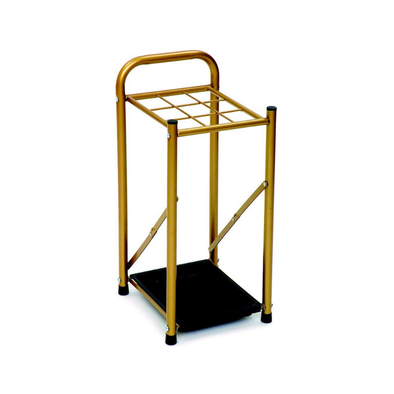 Essential Medical Supply Gold Walking Cane Display Holder - Senior.com Cane Holders