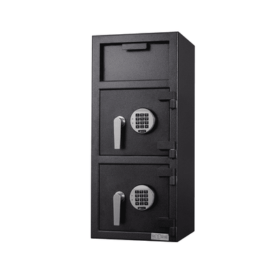 Protex Dual Compartment Drop Depository Safe with Electronic Keypad - Senior.com Security Safes