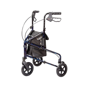 Carex Folding Trio Rolling Walker 3-Wheeled Rollator - Senior.com Rollators