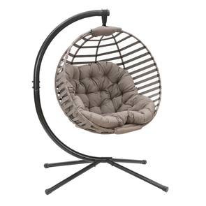 FlowerHouse Modern Ball Hanging Chair W/Stand - Senior.com Hanging Chairs
