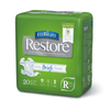 FitRight Restore Adult Briefs with Tabs - Heavy Absorbency Case of 80