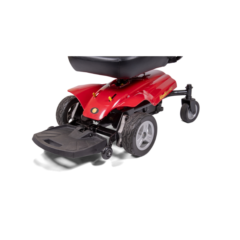 Golden Technologies Alante Sport Power Chair with Captains Seat - Red - Senior.com Power Chairs