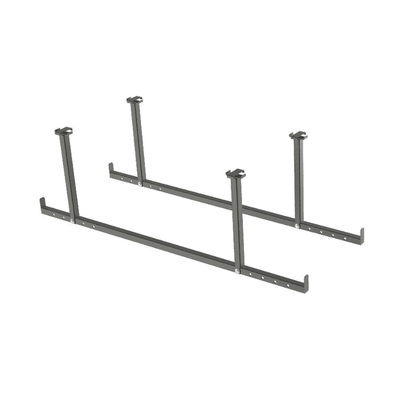 New Age Products VersaRac 2 Piece Accessory Kit (Hanging Bars) - Senior.com Garage Storage Accessories
