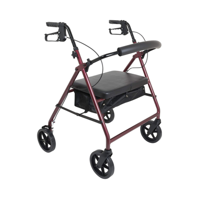 ProBasics Heavy Duty Aluminum Bariatric Rollator with 8-inch Wheels - Senior.com Rollators