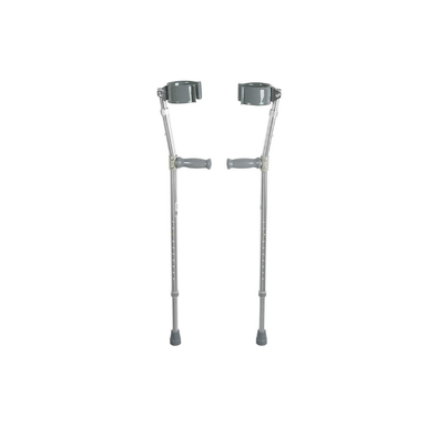 Drive Medical Ergonomic Bariatric Forearm Crutches - 500 lb Weight Cap - Senior.com Forearm Crutches