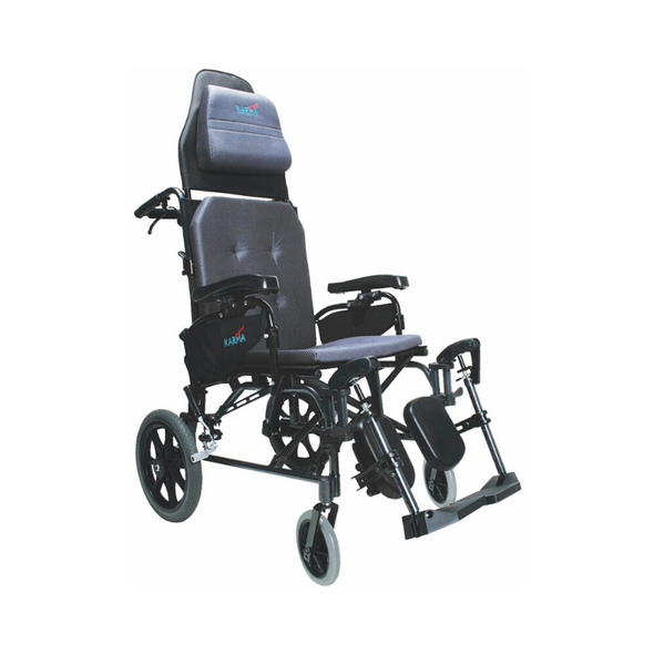 Karman Healthcare Self-Propelled Foldable Reclining Wheelchair - Senior.com Wheelchairs