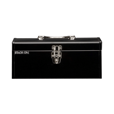 Stack-On 16-Inch Multi-Purpose Steel Tool Box - Black SHB-16