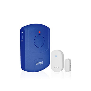 SMPL Door Alert Kit - Includes Door Sensor and Pager - Helps Stop Wandering Incidents Before They Happen - Senior.com Alzheimer Aids
