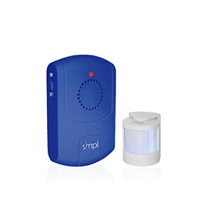 SMPL Motion Alert Kit - Includes Motion Sensor and Pager, Helps Stop Falls and Wandering Incidents - Senior.com Alzheimer Aids