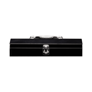 Stack-On 15-Inch Household/Project Steel Tool Box Black SHB-15