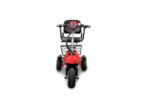 Ewheels Power Mobility 3-Wheeled Long Range Black Scooter with Swivel Seat EW-20 - Senior.com Scooters