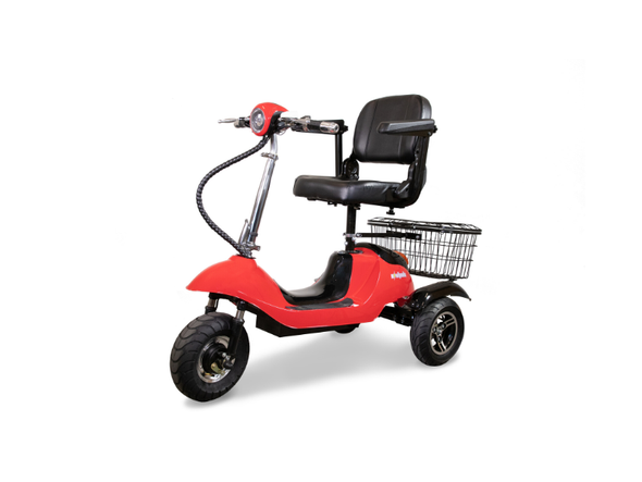 Ewheels Power Mobility 3-Wheeled Long Range Black Scooter with Swivel Seat - Senior.com Scooters