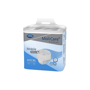 MoliCare Premium Mobile Adult Unisex Underwear - Moderate Absorbency Case of 56