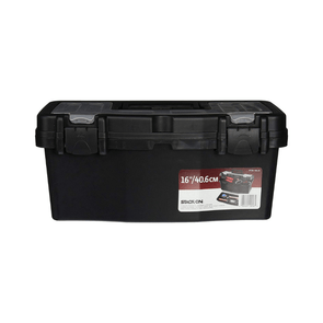 Stack-On 16 Inch Plastic Tool Box PTB-16LS-6