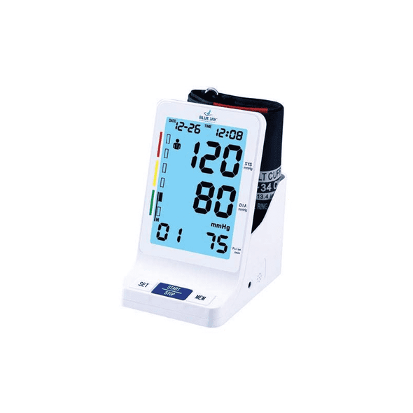 Blue Jay Perfect Measure Big Digit Talking DLX Blood Pressure Monitor