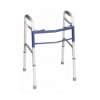 Carex Classics 2-Button Folding Walker - Senior.com walkers