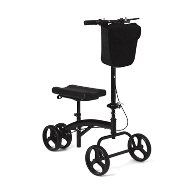 Medline Generation 3 Folding Knee Walker with Front Basket - Senior.com walkers