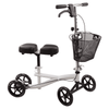 Roscoe Medical Knee Scooter with Basket - White - Senior.com walkers