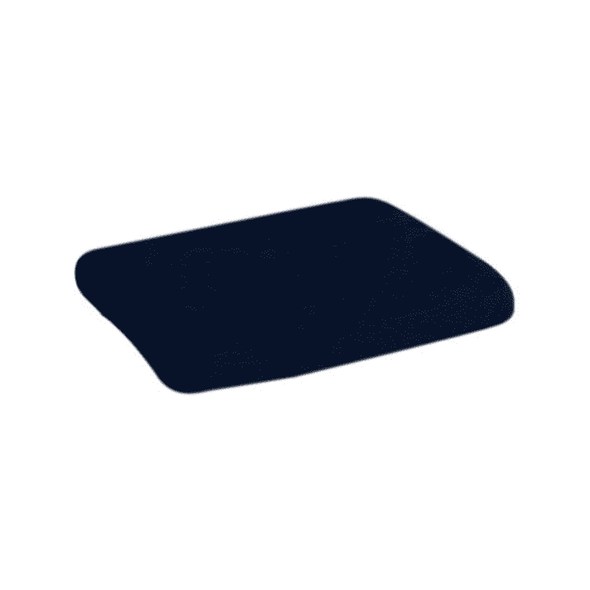 Essential Medical Supply Memory P.F. Molded Wedge Cushion - Senior.com scooter Parts & Accessories