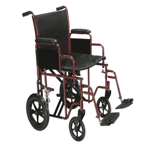MOBB Healthcare Bariatric Transport Chair with Extra Wide Seat