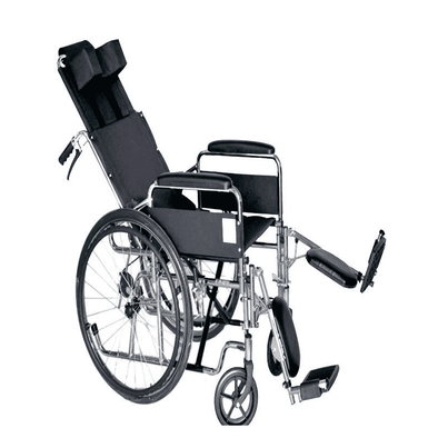 MOBB Healthcare Reclining Wheelchair with Swing Away & Removable Elevating Leg Rests - Senior.com Wheelchairs